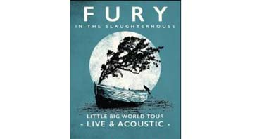 Fury in the Slaughterhouse 2017 live and acoustic