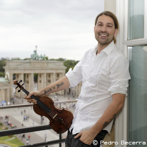 Excl.: David Garrett Tour 2019