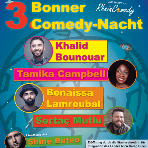 3. Bonner Comedy-Nacht - 20.09.2019