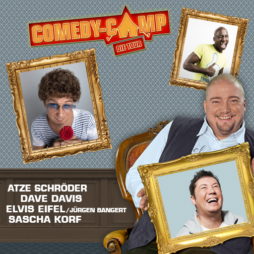 Comedy Camp Bergheim 30.10.2019
